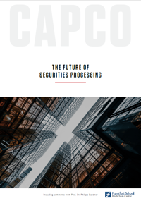 Cover The Future of Securities Processing